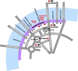 OTW + BH + Gabriel's Wharf map